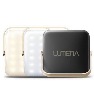 NNINE LUMENA(ルーメナー)7 LEDランタン 最大1300ルーメン 充電式 LUMENA7-BLK 電池式