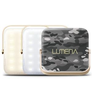 【送料無料】NNINE LUMENA(ルーメナー)7 LEDランタン 迷彩グレイ LUMENA7-GLY