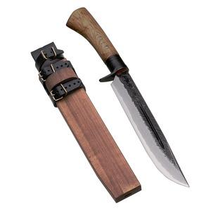 【送料無料】関兼常 関伝古式和鉄製錬 鬼神狩猟匠・両刃 210mm CW-16