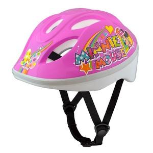 ides(アイデス) キッズヘルメット S ミニーマウスPP 子供用ヘルメット 53-57cm ピンク 36369