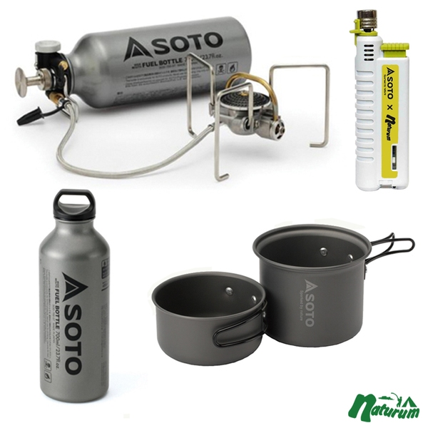 SOTO MUKAストーブ【数量限定セット】 SOD-371 ガソリン式