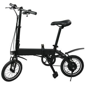 【送料無料】PM LABO EM14 3WAYハイブリッド自転車 折りたたみ可 ブラック EM14-BLACK