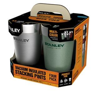 STANLEY(スタンレー) スタッキング真空パイント 4パック 02796-006 ステンレス製マグカップ