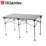 Hilander(ハイランダー) アルミロールテーブル 124×70cm HCA0192 キャンプテーブル