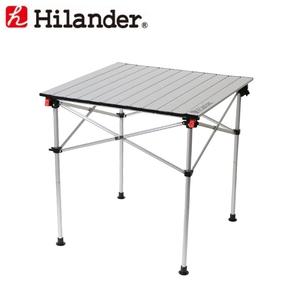 アルミロールテーブル 70×70cm