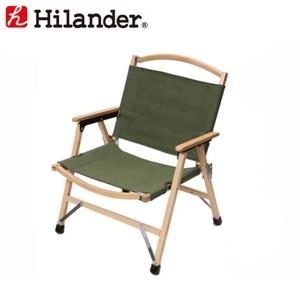 Hilander(ハイランダー) ウッドフレームチェア2(WOOD FRAME CHAIR) HCA0182 座椅子&コンパクトチェア