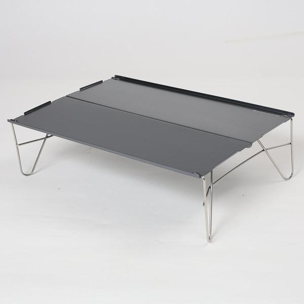 ノーブランド 軽量アルミテーブル コンパクト/ミニテーブル