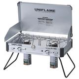 ユニフレーム(UNIFLAME) ツインバーナー US-1900+プレミアムガス×2 610305 ガス式