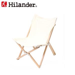 アウトドア&フィッシング ナチュラム【送料無料】Hilander(ハイランダー) ウッドフレーム リラックスチェア M HCA0202