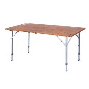 KING CAMP(キングキャンプ) バンブーフォールディングテーブル KC3929 キャンプテーブル