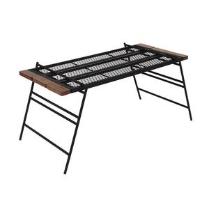 DOD(ディーオーディー) テキーラテーブル(ウォルナット仕様)10周年限定モデル TB4-571-BK キャンプテーブル