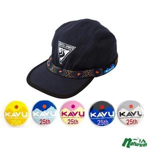 KAVU(カブー) 【25周年缶バッチ付き】エンブロイダリー ストラップキャップ 19810756190007