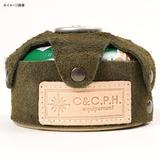 C&C.P.H EQUIPEMENT(シー&シー.ピー.エイチ イクイップメント) ガスカートリッジ カバー 110(ベロア) CEV1701 キャンプ用ガスカートリッジ