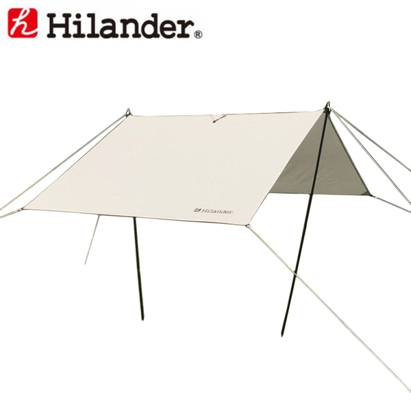 Hilander(ハイランダー) ミニレクタタープ UA-1073 レクタ型(ポール:4本以上)