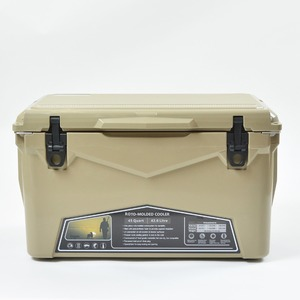【送料無料】ICE AGE coolers(アイスエイジクーラー) 45QTクーラーボックス 42.6L タン ILC045TAN