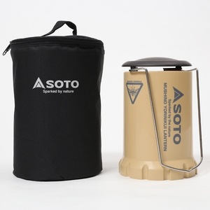 SOTO 虫の寄りにくいランタン ケースセット(ナチュラム別注カラー) ST-233SBCS ガス式