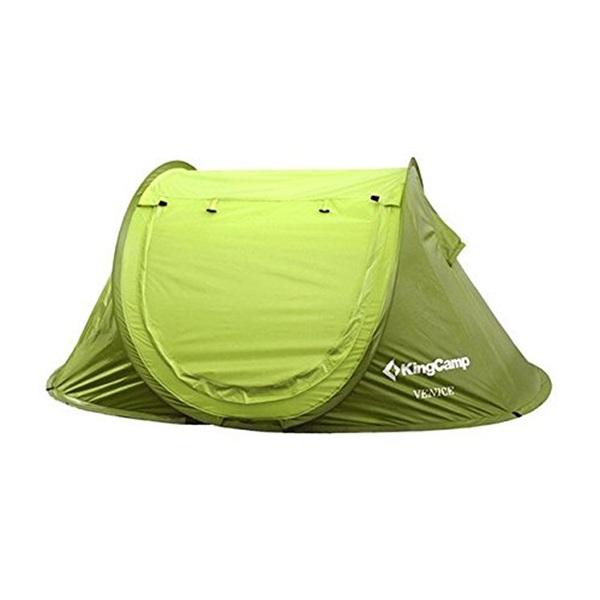 KING CAMP(キングキャンプ) KingCamp KT3071 ポップアップテント GREEN 32447 ファミリードームテント