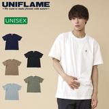 ユニフレーム(UNIFLAME) 【ユニフレーム×ナチュラム】7.1オンス へヴィーウェイトTシャツ URNT-1 メンズ半袖Tシャツ