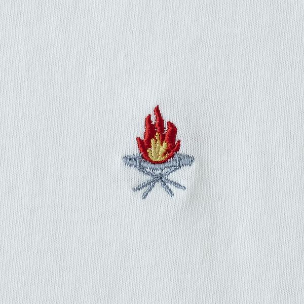 ユニフレーム(UNIFLAME) 【ユニフレーム×ナチュラム】7.1オンス へヴィーウ���イトTシャツ URNT-1 メンズ半袖Tシャツ