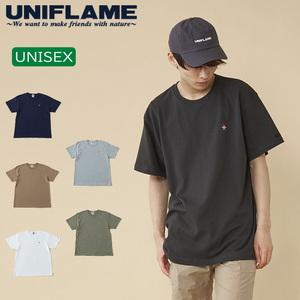 ユニフレーム(UNIFLAME) 【ユニフレーム×ナチュラム】7.1オンス へヴィーウェイトTシャツ URNT-2