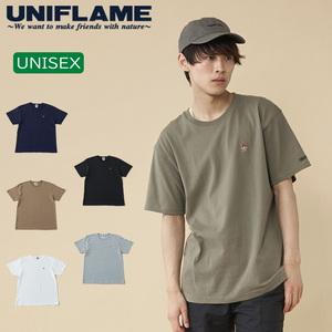 ユニフレーム(UNIFLAME) 【ユニフレーム×ナチュラム】7.1オンス へヴィーウェイトTシャツ URNT-3 メンズ半袖Tシャツ