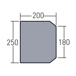 ogawa(キャンパルジャパン) グランドマット ファシル用 3894 テントインナーマット