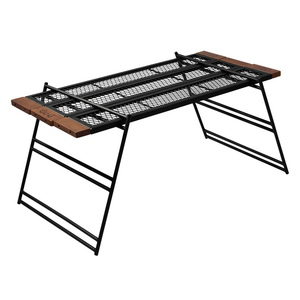 DOD(ディーオーディー) テキーラテーブル TB4-746-BK バーベキューテーブル