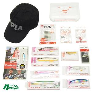 アピア(APIA)APIA新春福袋 2019 キャップ ブラックセット