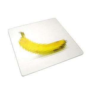 【クリックで詳細表示】コモライフJosephJosephジョセフジョセフ 耐熱強化ガラス デザインまな板 ピクセル バナナ
