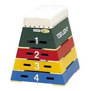 トーエイライト カラー跳箱4段(小) T-2571
