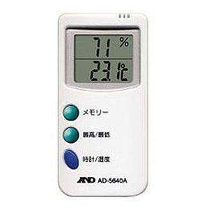 【クリックで詳細表示】A&D(エー・アンド・ディ)AD-5640A 温湿度計