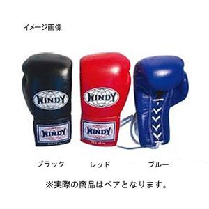 【送料無料】WINDY(ウィンディ) 試合用グローブ(ひも式)BGL 12oz ブルー