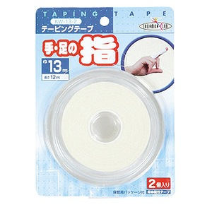 鉄人倶楽部 テーピング 13mm×2P KW-13-2 応急処置用品