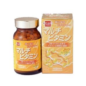 45%OFF <ナチュラム> 健康フーズ マルチビタミン 240粒 7320