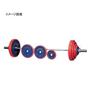 【クリックで詳細表示】ダンノ(DANNO)正式バーベル(ベアリング回転式) 120kgセット