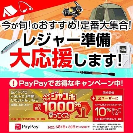 PayPayでお得なキャンペーン中!定番大集合で、レジャー準備大応援します!
