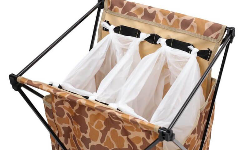 ダストスタンド Trash Bag Stand ゴミ袋を引っ掛けた部分の拡大