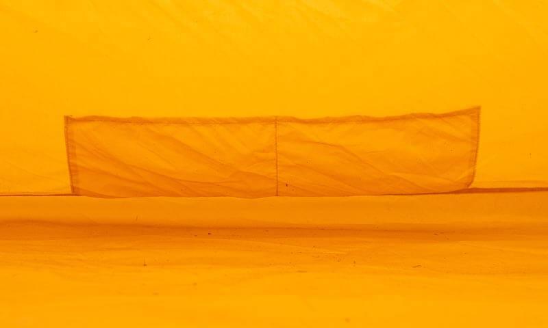 ハイランダー テント アルネスの細部の機能も充実