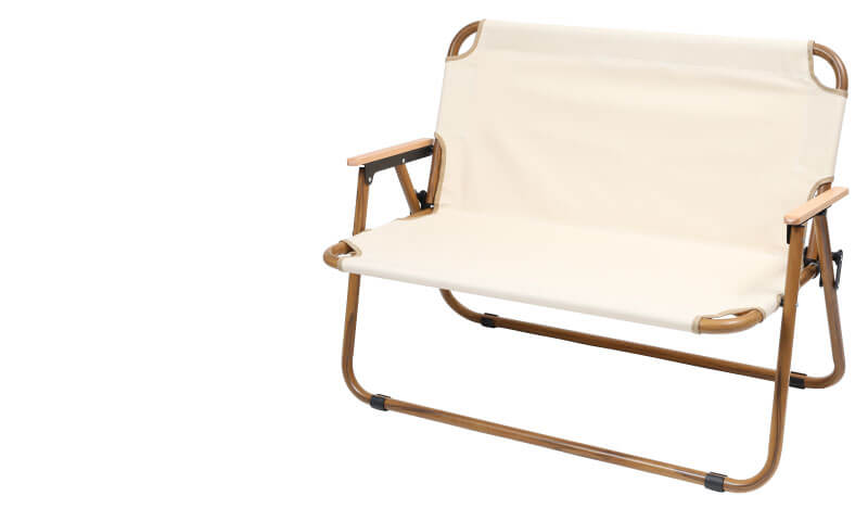 アルミフォールディングベンチ Aluminum Folding Bench