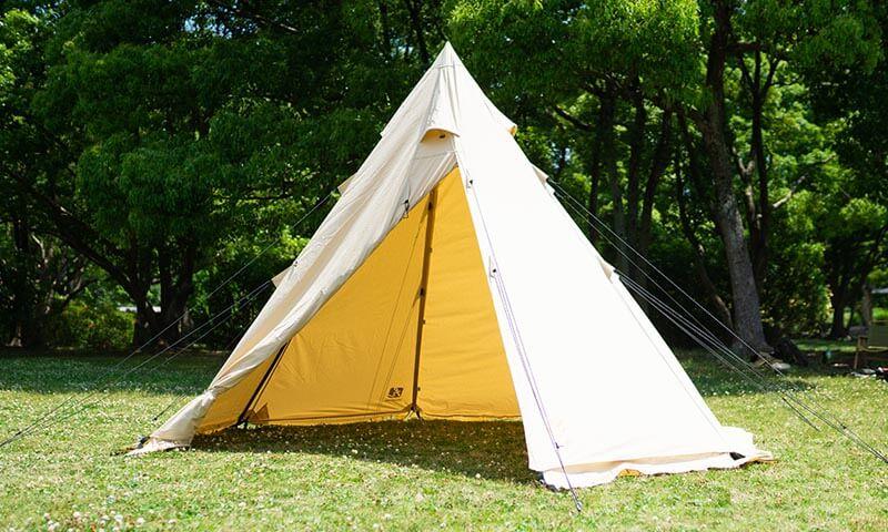 ハイランダー A型フレーム ネヴィスTCのテント内部も良心設計