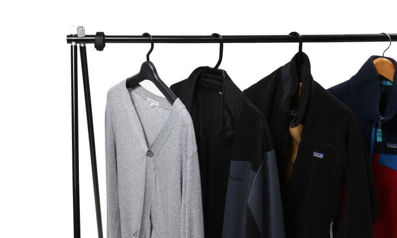 アルミハンガーラック Aluminum Clothes Rack