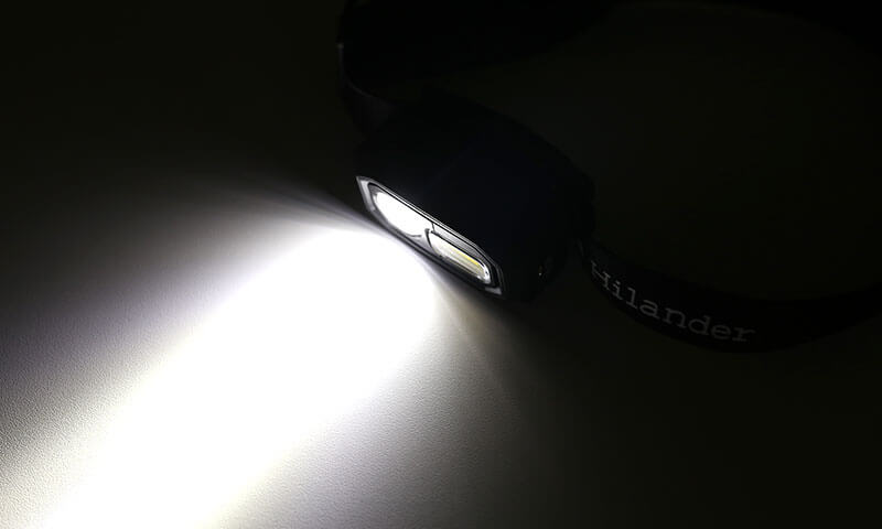 Hilanderの照射角度40°