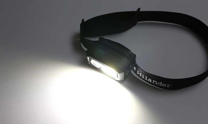 Hilanderの照射角度100°