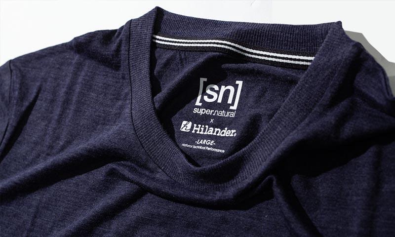 [sn]super.naturalとHilanderのコラボTシャツ登場!
