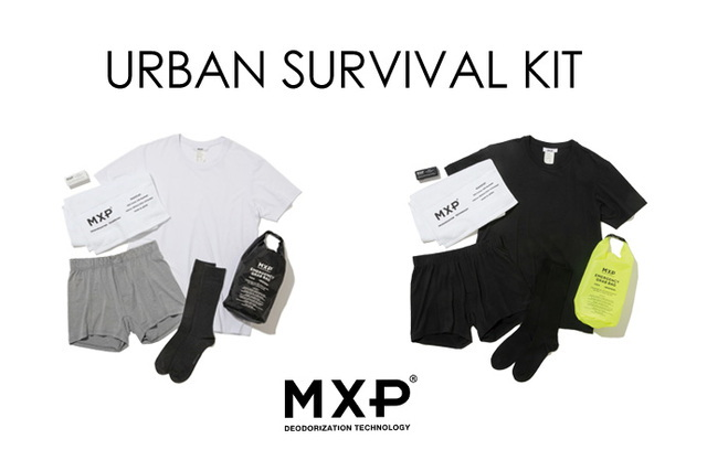 【MXP】 都会を生き抜く6種の神器 「URBAN SURVIVAL KIT 」