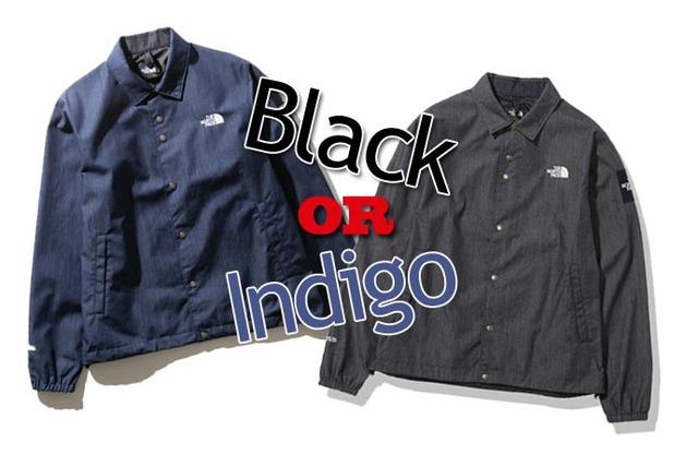 ノースフェイスの春らしいデニムジャケットをチェック!ブラックとインディゴあなたはどっち派?